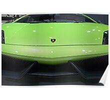 Lime Green Lambo Poster
