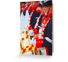 drum corps Greeting Card