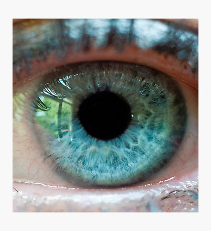 The eye of the beautiful beholder Photographic Print