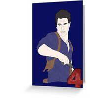 Uncharted Adventurer Greeting Card