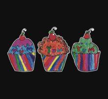 Cupcakes by Grace (8) Kids Tee