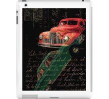 Dark Car iPad Case/Skin