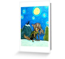 Night of the Werewolf Greeting Card