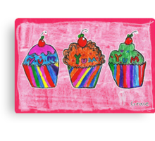 Cupcakes by Grace (8) Canvas Print