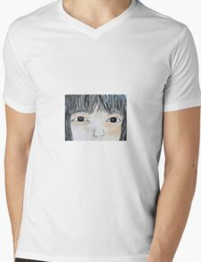 Eyes of Love Mens V-Neck T-Shirt