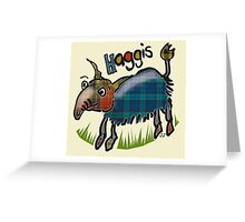 Haggis in the Highlands Greeting Card