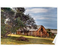 A Great Fixer Up - Old Barn, Palmer, Murraylands Poster