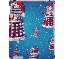 Christmas style Doctor who Daleks  iPad Case/Skin