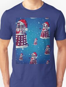 Christmas style Doctor who Daleks  T-Shirt