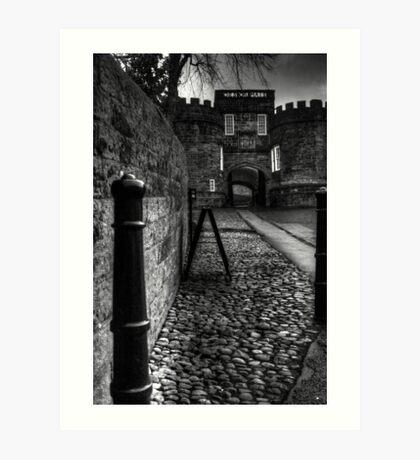 Skipton Castle Art Print