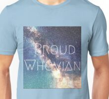 Proud Whovian Doctor who merchandise  Unisex T-Shirt