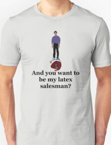 Seinfeld's Latex Salesman T-Shirt