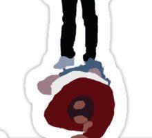 Seinfeld's Latex Salesman Sticker