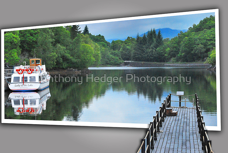 Reflections on the still water by Anthony Hedger Photography