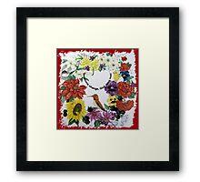 Ring of Four Seasons Framed Print