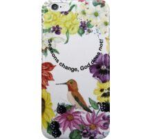 Ring of Four Seasons iPhone Case/Skin