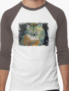 Himalayan Cat Men's Baseball ¾ T-Shirt