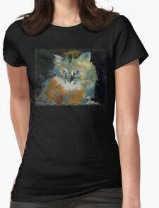 Himalayan Cat Womens Fitted T-Shirt