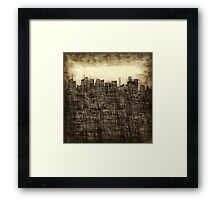 City utopia Framed Print