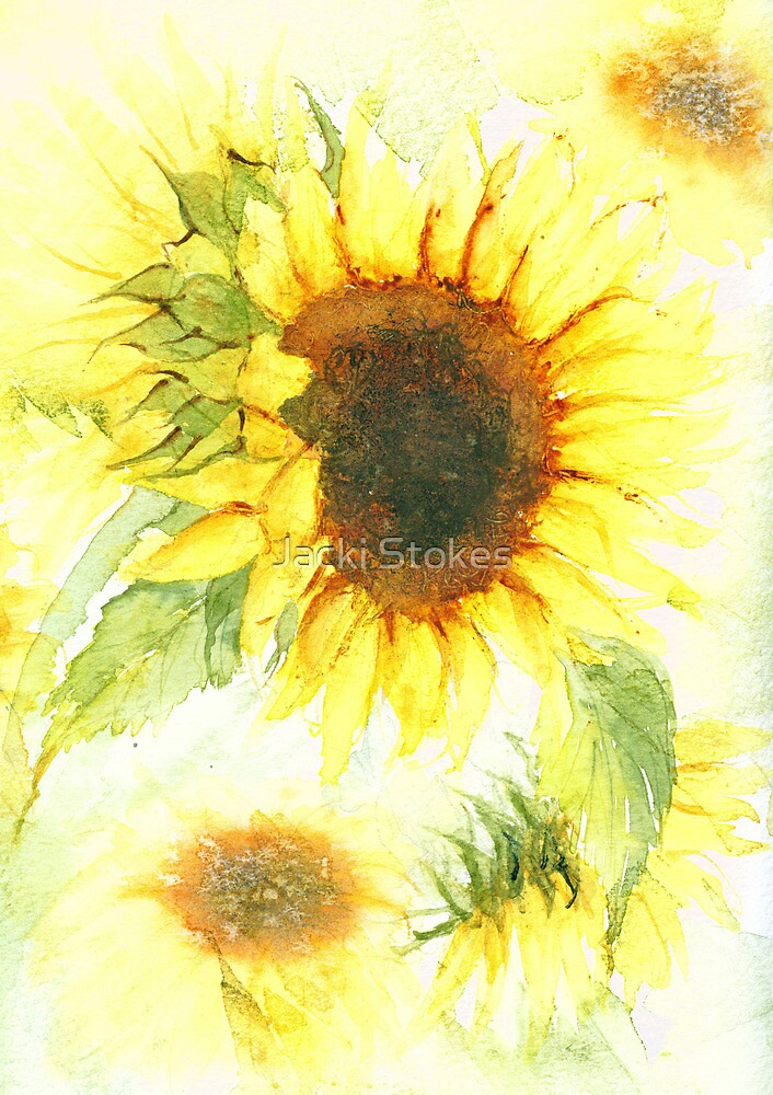 Sunflowers by Jacki Stokes