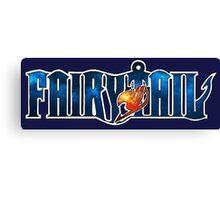 Fairy Tail Galaxy Canvas Print
