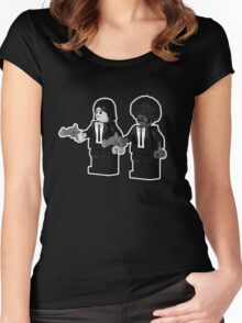 Brick Fiction Variant 01 Women's Fitted Scoop T-Shirt
