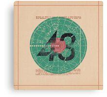"""43"" Canvas Print"
