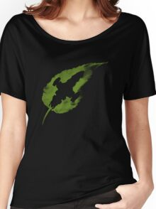 Leaf on the Wind Women's Relaxed Fit T-Shirt