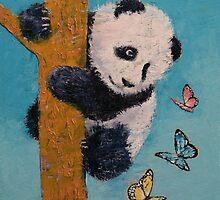 Panda Butterflies by Michael Creese