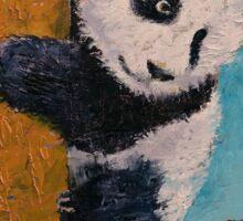 Panda Butterflies Sticker