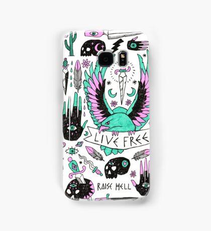 Live Free Samsung Galaxy Case/Skin