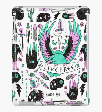 Live Free iPad Case/Skin