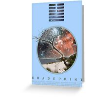 Peace & Greatness. Greeting Card