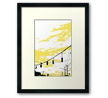 Skylines Framed Print