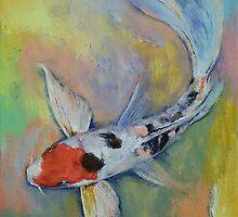 Maruten Butterfly Koi by Michael Creese