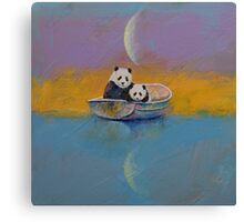 Panda Lake Canvas Print