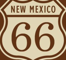 Historic Route 66 (New Mexico) Highway Sign Sticker