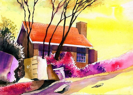 Red House by Anil Nene