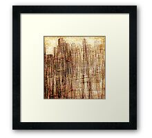 City utopia 2 illustration Framed Print