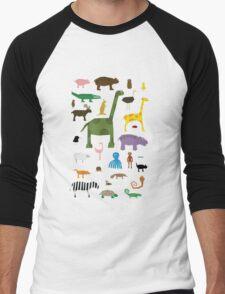 Menagerie Men's Baseball ¾ T-Shirt