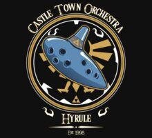 Castle Town Orchestra Baby Tee