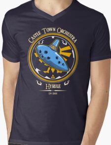 Castle Town Orchestra Mens V-Neck T-Shirt