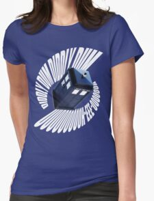 doctor who theme 2 Womens Fitted T-Shirt