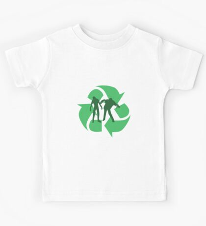 Even Zombies Recycle Kids Tee