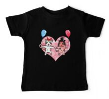 Kitty Loves Puppy by Tane (10) Baby Tee