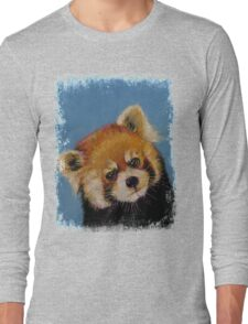 Red Panda Long Sleeve T-Shirt