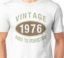 Vintage 1976 Birthday Unisex T-Shirt