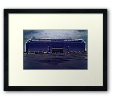 Home of the New York Giants Framed Print