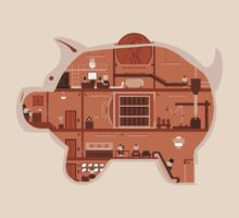 Piggy Bank by Teo Zirinis