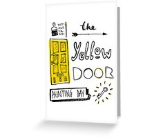 The Yellow Door Greeting Card